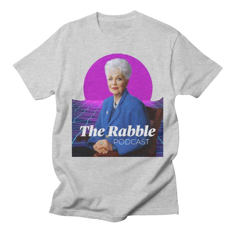 Ann Richards Pink Sun, The Rabble Podcast Men's Regular T-Shirt by Rouser