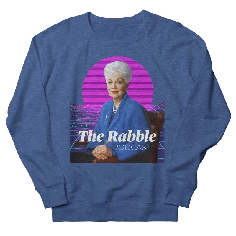 Ann Richards Pink Sun, The Rabble Podcast Men's Sweatshirt by Rouser