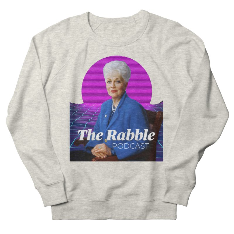 Ann Richards Pink Sun, The Rabble Podcast Men's French Terry Sweatshirt by Rouser