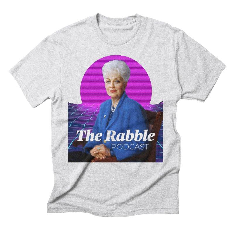 Ann Richards Pink Sun, The Rabble Podcast Men's Triblend T-Shirt by Rouser