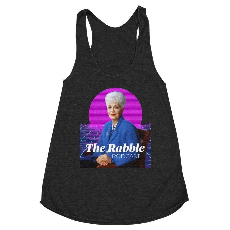 Ann Richards Pink Sun, The Rabble Podcast Women's Tank by Rouser