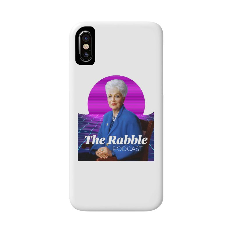 Ann Richards Pink Sun, The Rabble Podcast Accessories Phone Case by Rouser