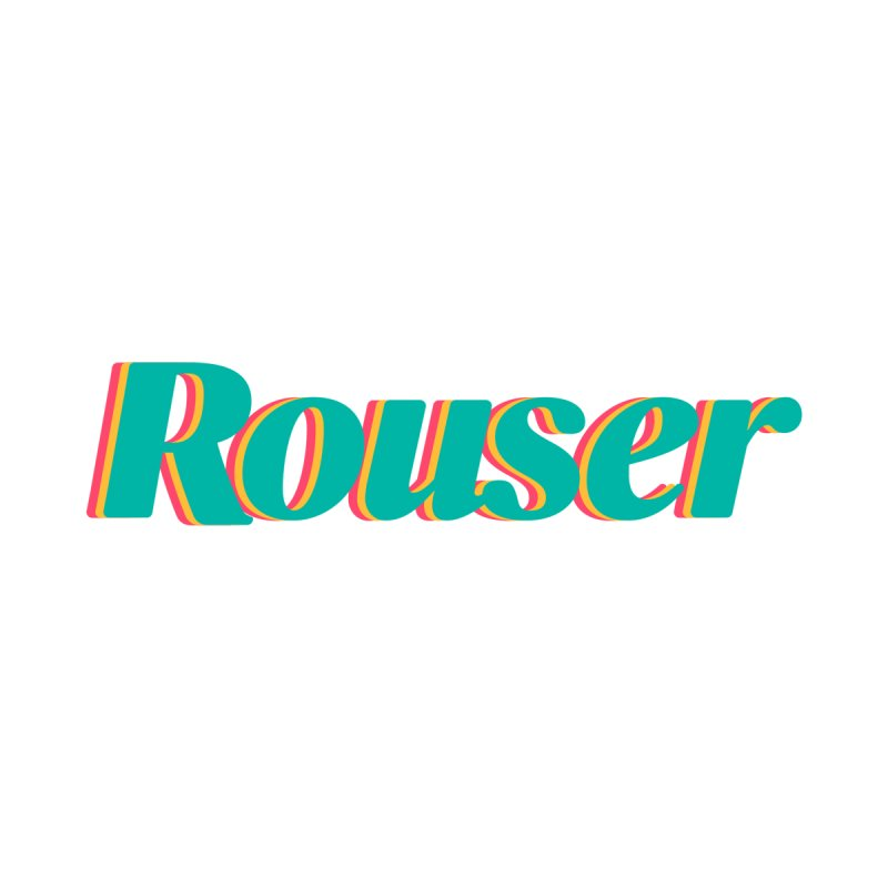 Rouser Logo Accessories Notebook by Rouser