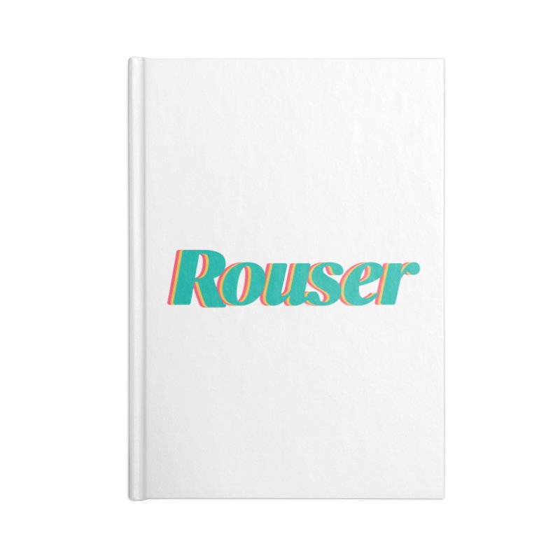 Rouser Logo Accessories Lined Journal Notebook by Rouser