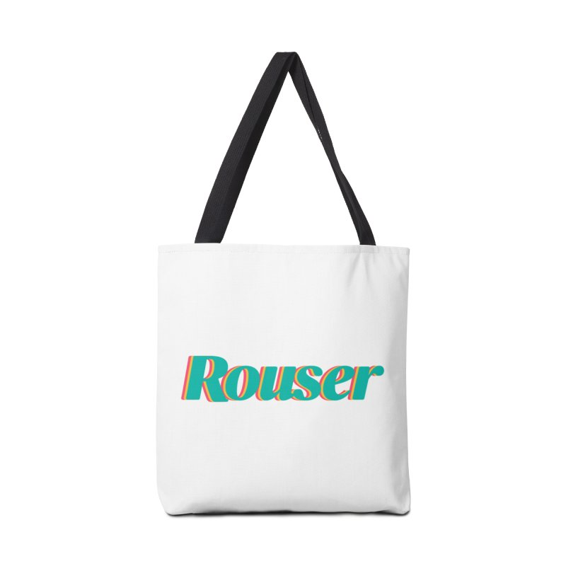 Rouser Logo Accessories Tote Bag Bag by Rouser