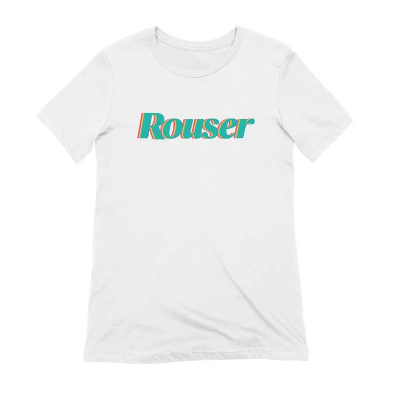 Rouser Logo Women's Extra Soft T-Shirt by Rouser