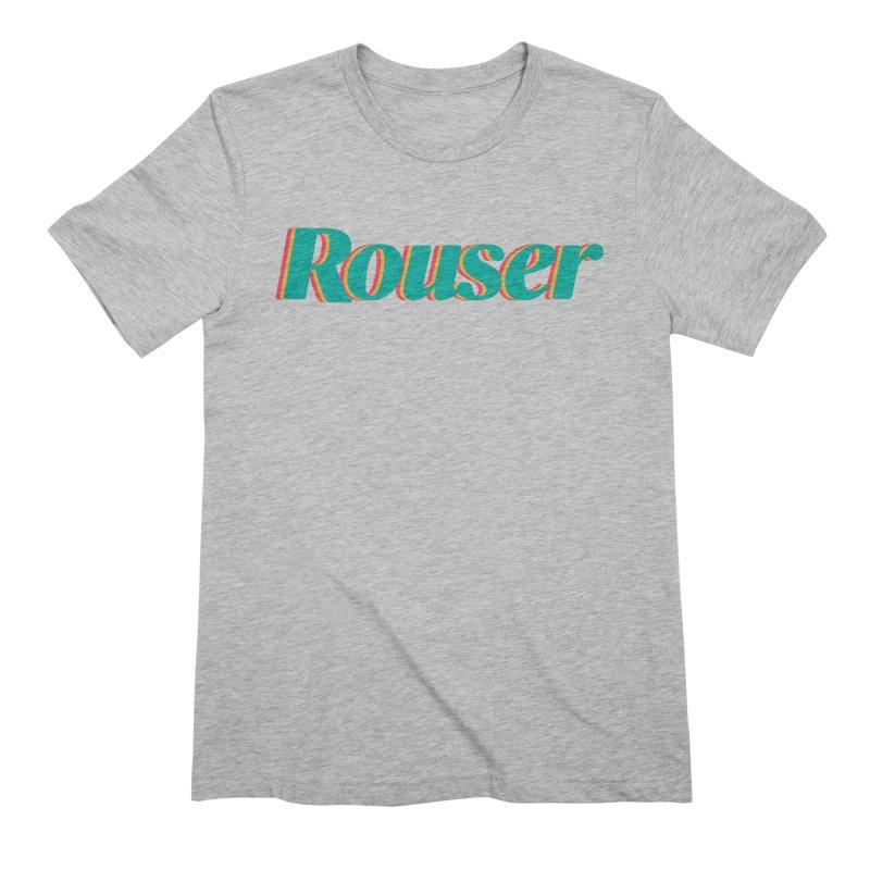 Rouser Logo Men's T-Shirt by Rouser