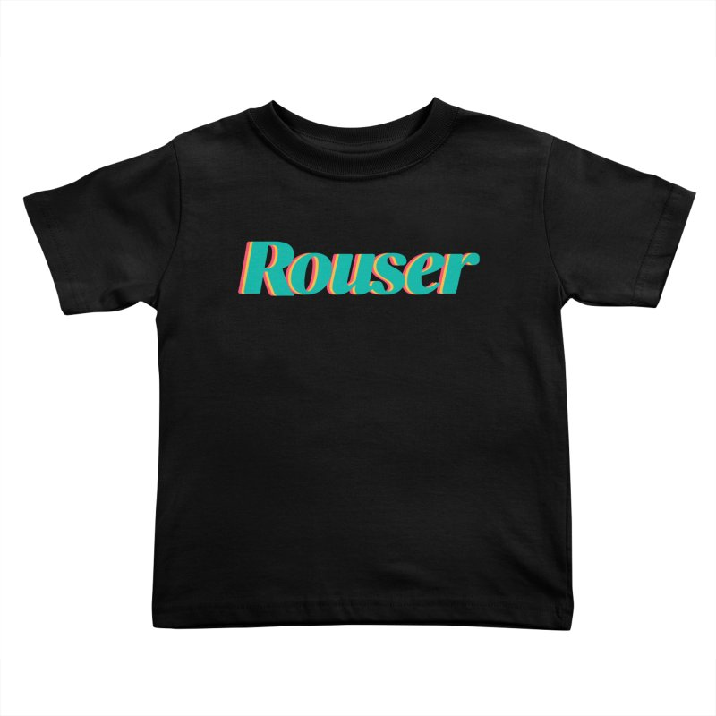 Rouser Logo Kids Toddler T-Shirt by Rouser