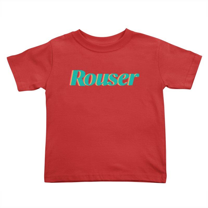 Rouser Logo Kids Toddler T-Shirt by Rouser