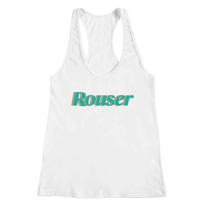 Rouser Logo Women's Racerback Tank by Rouser