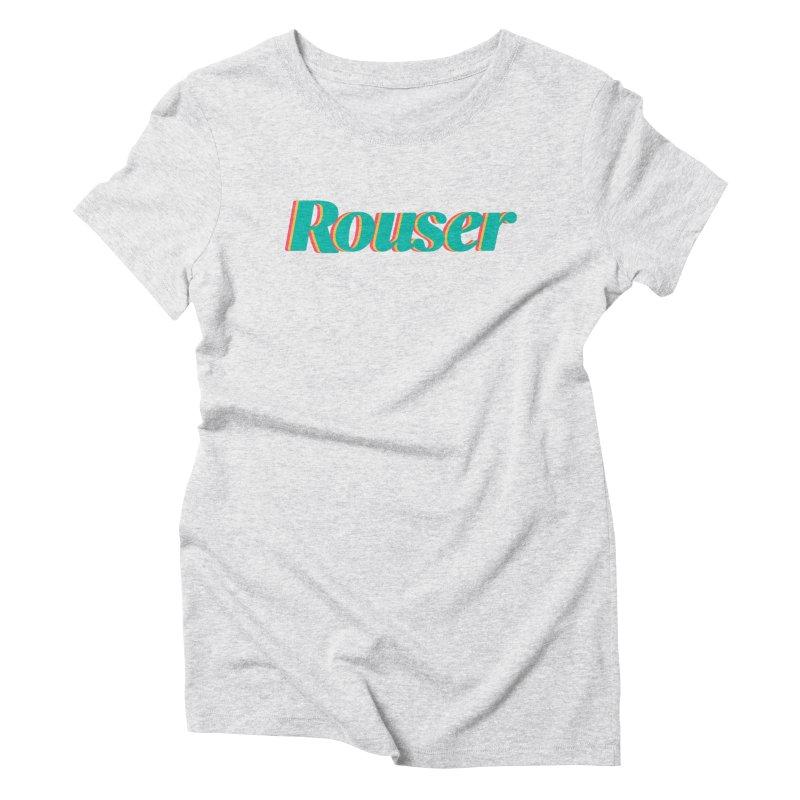Rouser Logo Women's T-Shirt by Rouser
