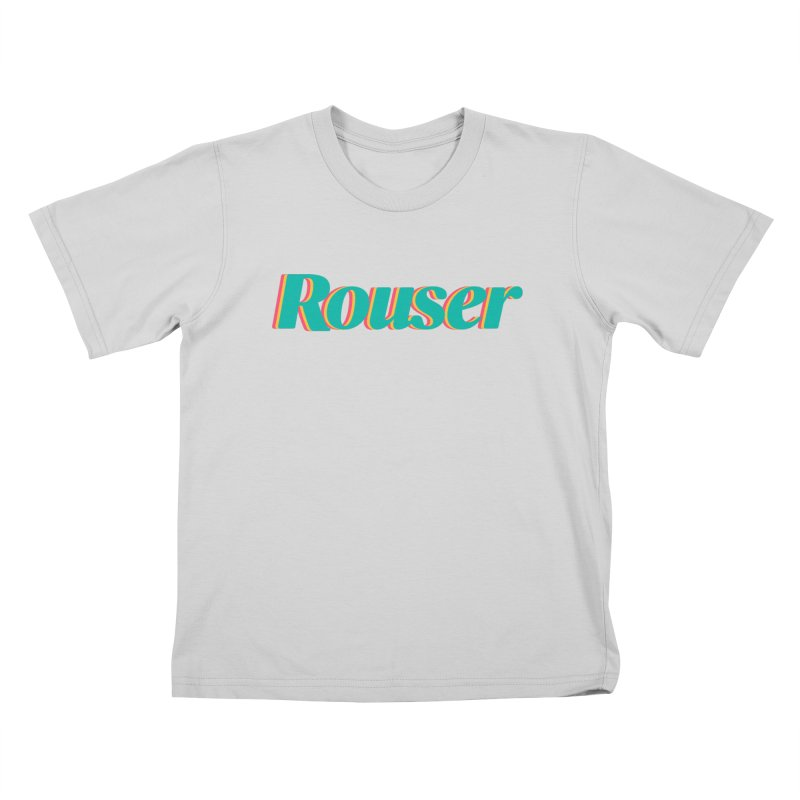 Rouser Logo Kids T-Shirt by Rouser