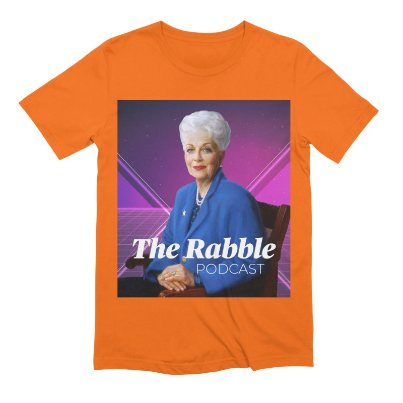 Ann Richards Lasers, The Rabble Podcast Men's Extra Soft T-Shirt by Rouser