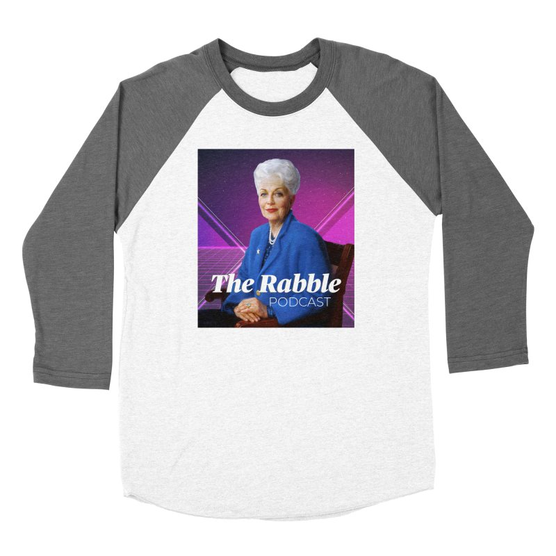 Ann Richards Lasers, The Rabble Podcast Women's Longsleeve T-Shirt by Rouser
