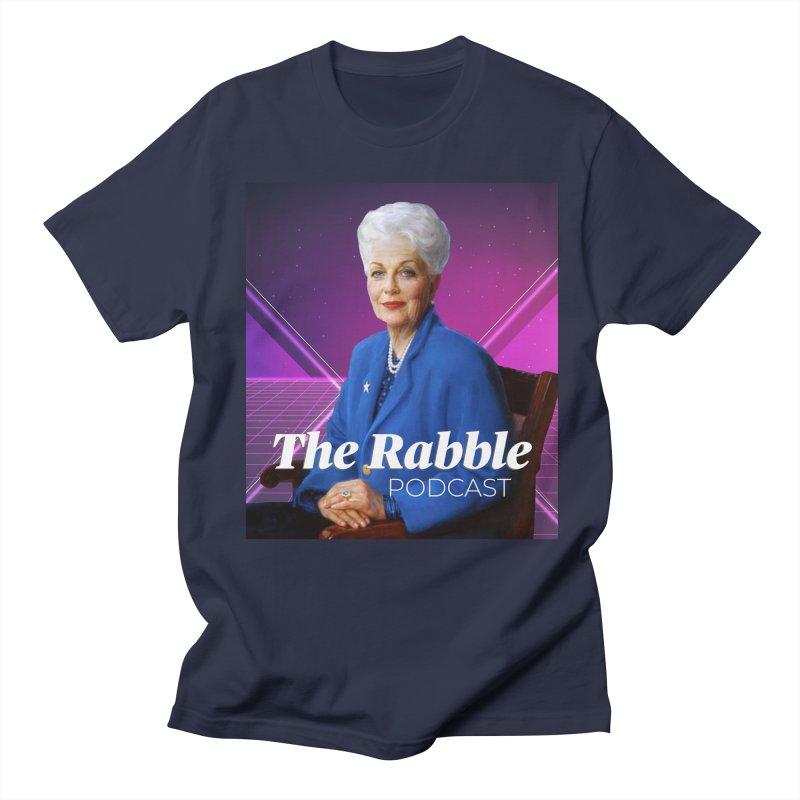 Ann Richards Lasers, The Rabble Podcast Men's T-Shirt by Rouser
