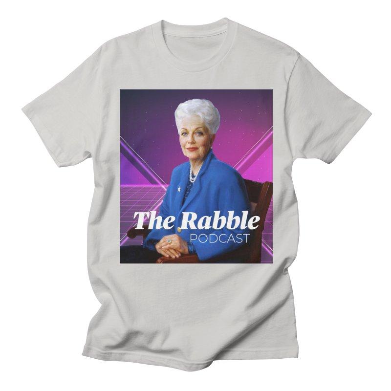 Ann Richards Lasers, The Rabble Podcast Men's Regular T-Shirt by Rouser