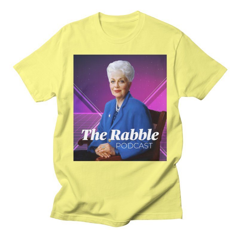 Ann Richards Lasers, The Rabble Podcast Men's T-Shirt by Rouser