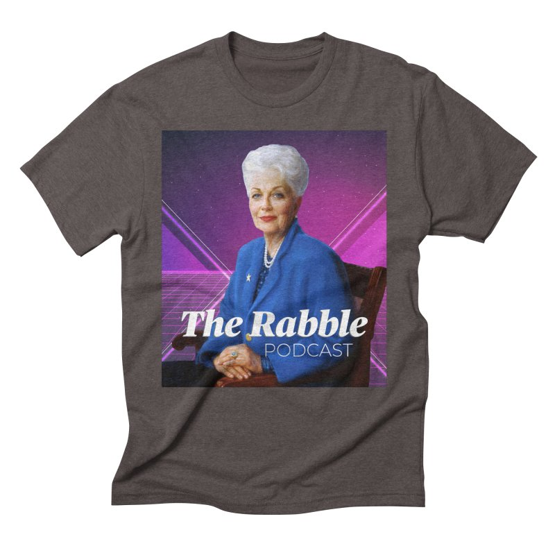Ann Richards Lasers, The Rabble Podcast Men's Triblend T-Shirt by Rouser