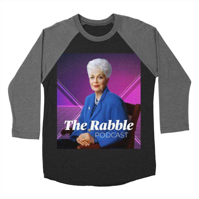 Ann Richards Lasers, The Rabble Podcast Women's Baseball Triblend Longsleeve T-Shirt by Rouser