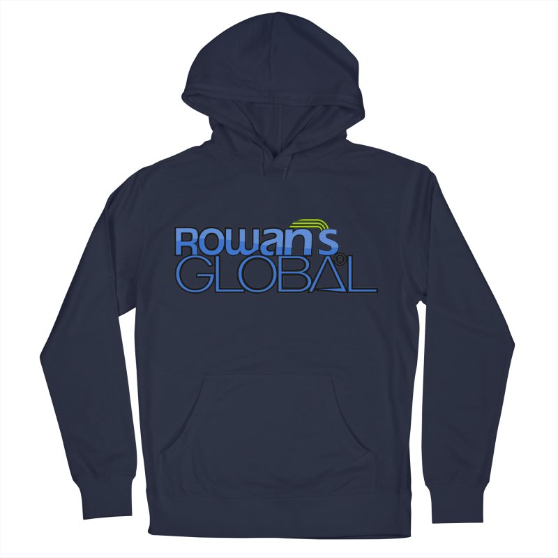 Rowan's Global Men's Pullover Hoody by rowan's Artist Shop