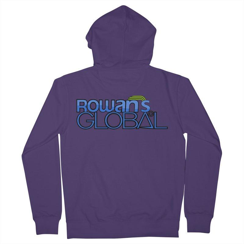 Rowan's Global Women's Zip-Up Hoody by rowan's Artist Shop