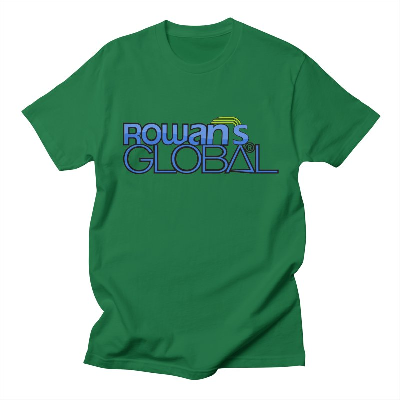 Rowan's Global Men's Regular T-Shirt by rowan's Artist Shop