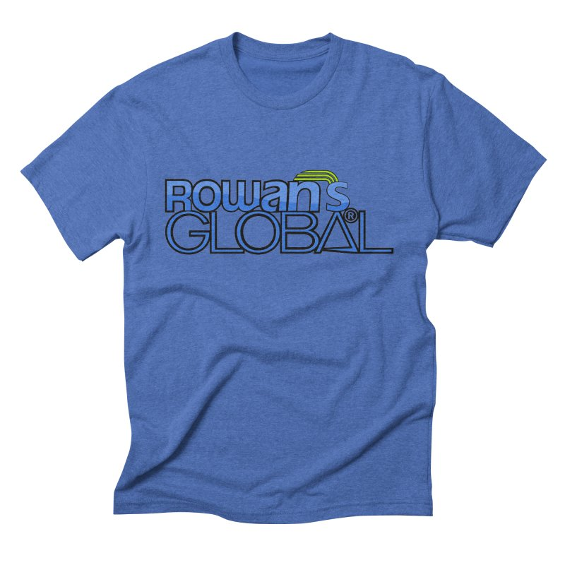 Rowan's Global Men's Triblend T-Shirt by rowan's Artist Shop