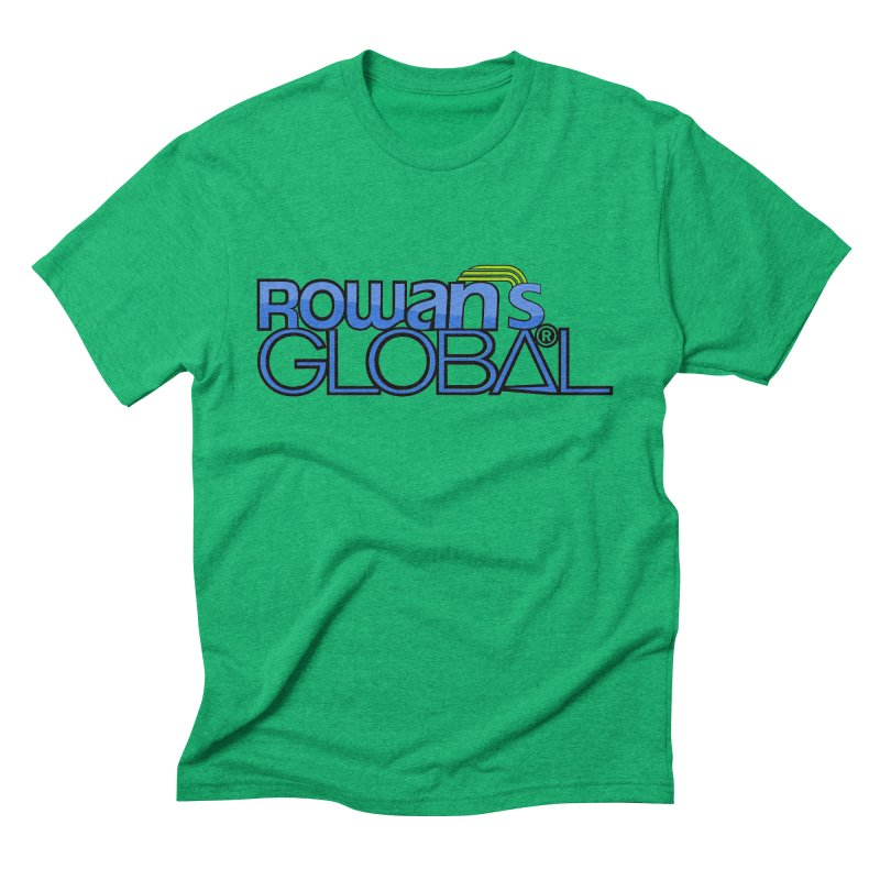 Rowan's Global Men's Triblend T-Shirt by rowan's Artist Shop