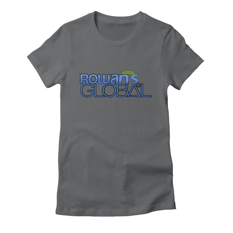 Rowan's Global Women's Fitted T-Shirt by rowan's Artist Shop