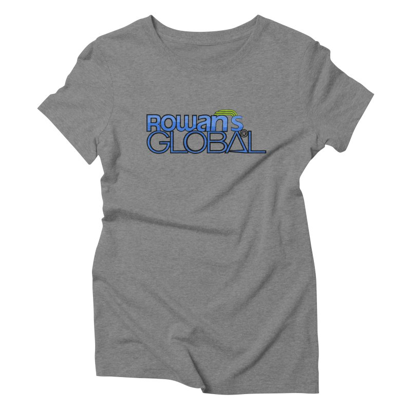 Rowan's Global Women's Triblend T-Shirt by rowan's Artist Shop
