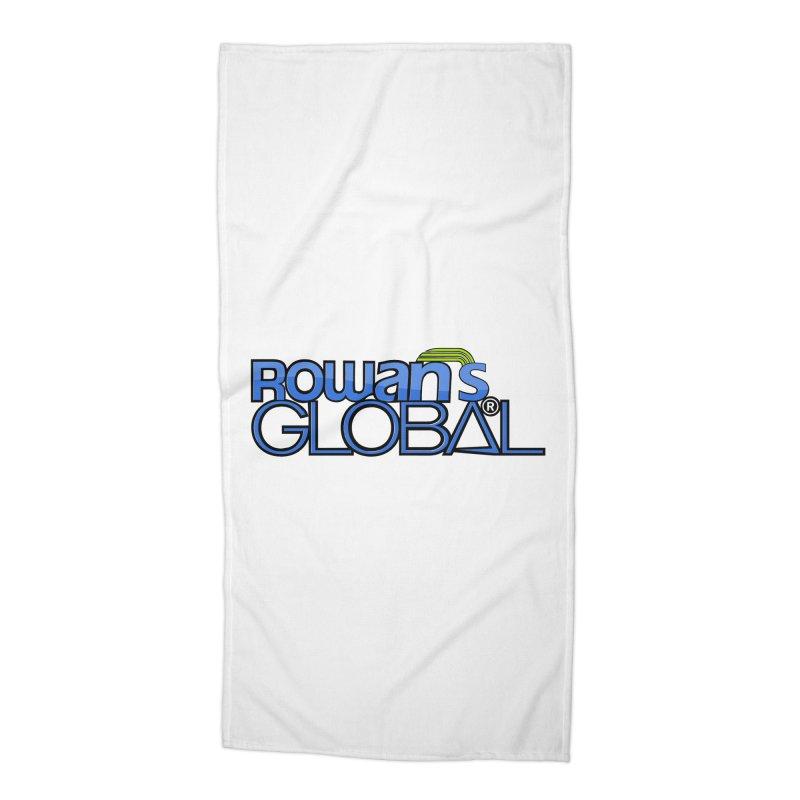 Rowan's Global Accessories Beach Towel by rowan's Artist Shop