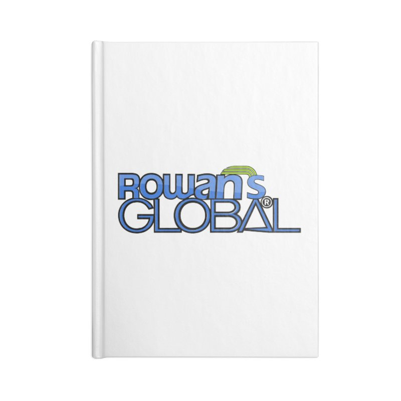 Rowan's Global Accessories Notebook by rowan's Artist Shop