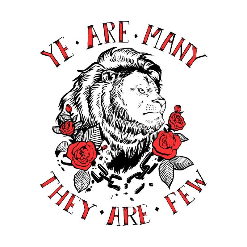 Rise Like Lions Men's T-Shirt by roxydrew