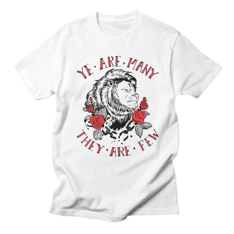 Rise Like Lions Men's Regular T-Shirt by roxydrew