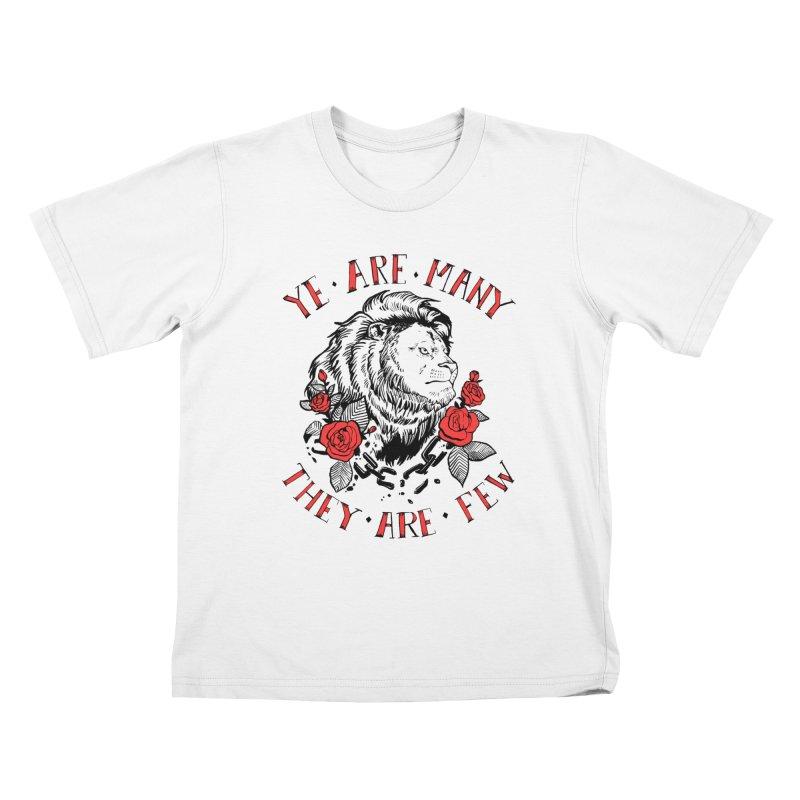 Rise Like Lions Kids T-Shirt by roxydrew