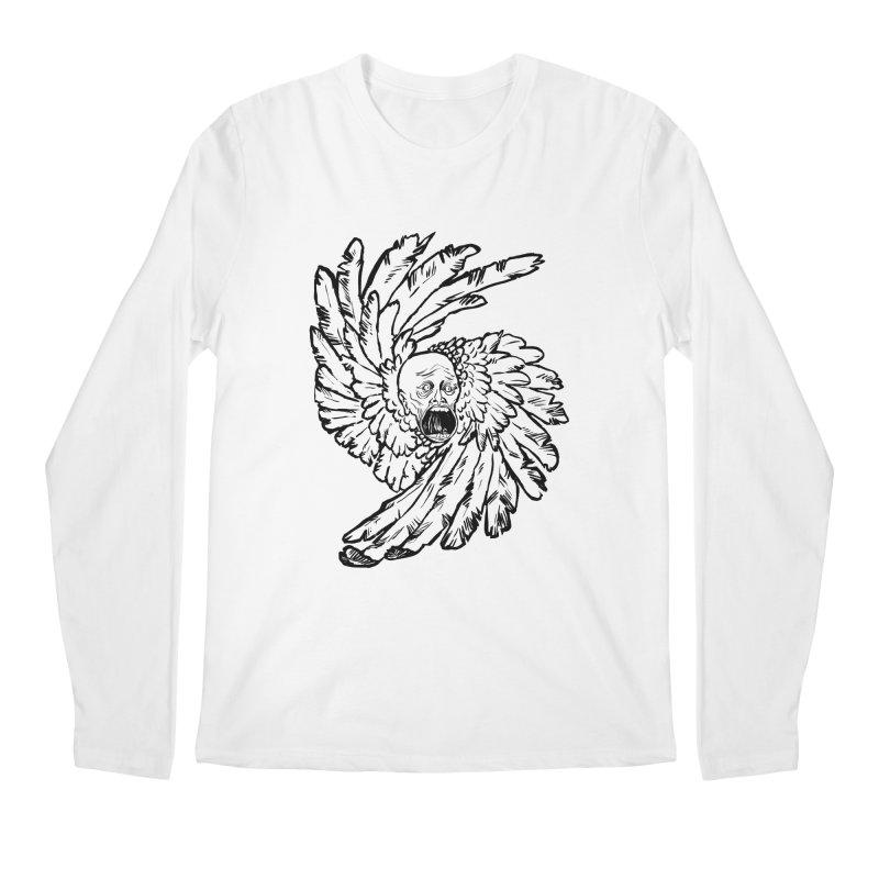 The Angel of History Men's Regular Longsleeve T-Shirt by roxydrew