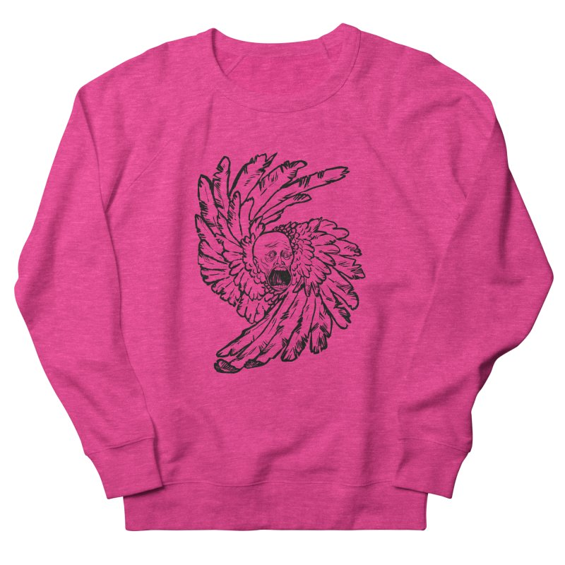 The Angel of History Women's French Terry Sweatshirt by roxydrew