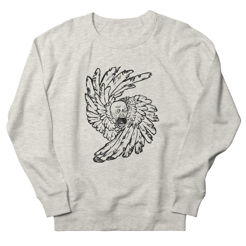The Angel of History Men's French Terry Sweatshirt by roxydrew