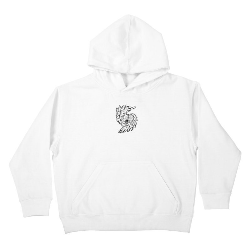 The Angel of History Kids Pullover Hoody by roxydrew