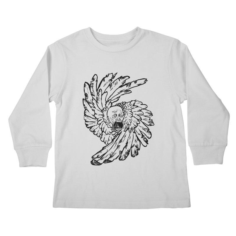 The Angel of History Kids Longsleeve T-Shirt by roxydrew