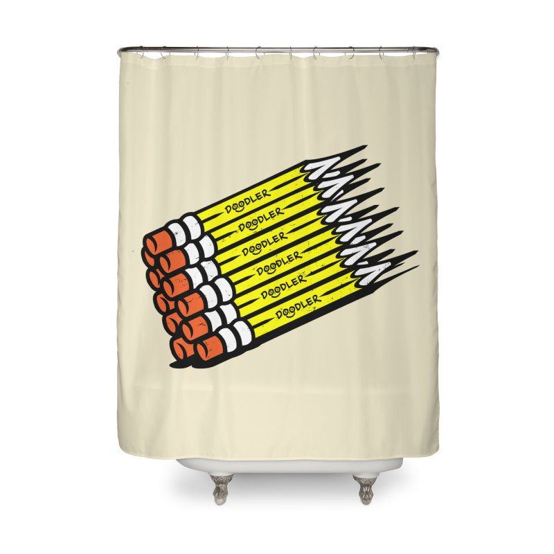 My Pencils Home Shower Curtain by rskamesado's Artist Shop