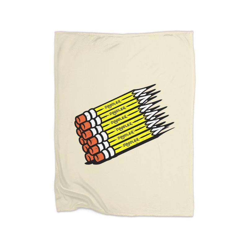 My Pencils Home Blanket by rskamesado's Artist Shop