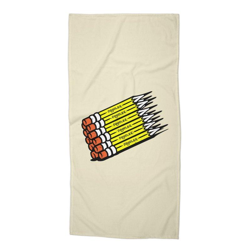 My Pencils Accessories Beach Towel by rskamesado's Artist Shop