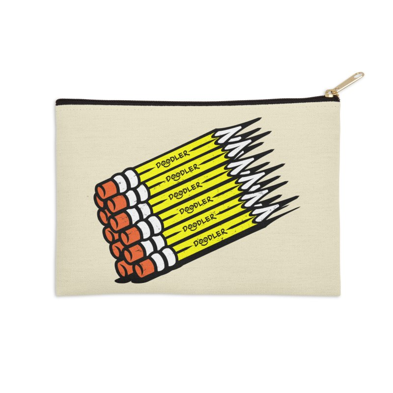 My Pencils Accessories Zip Pouch by rskamesado's Artist Shop