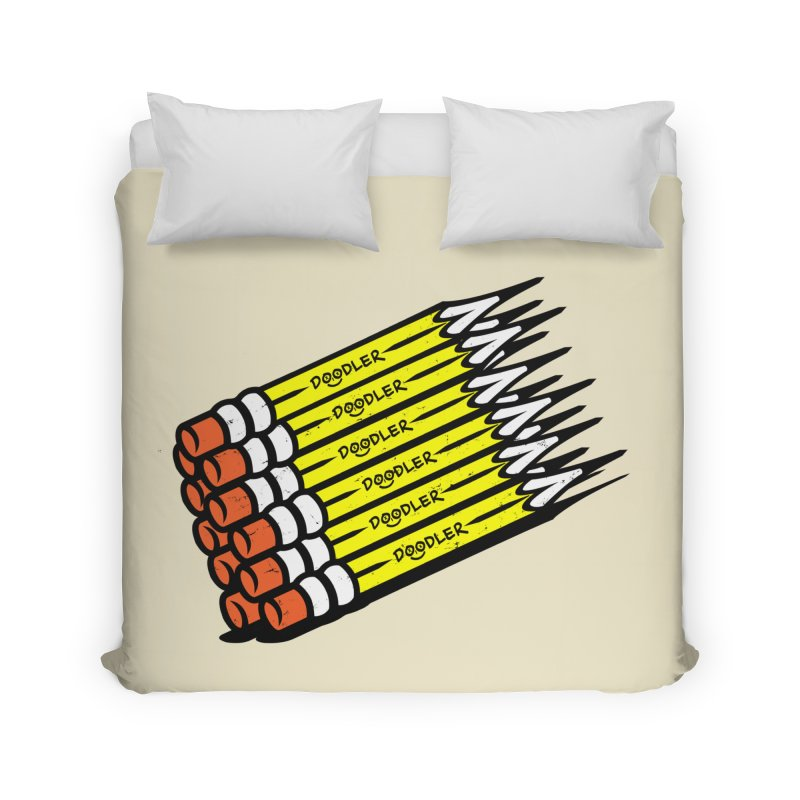 My Pencils Home Duvet by rskamesado's Artist Shop