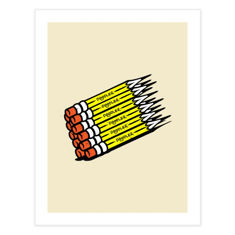 My Pencils Home Fine Art Print by rskamesado's Artist Shop