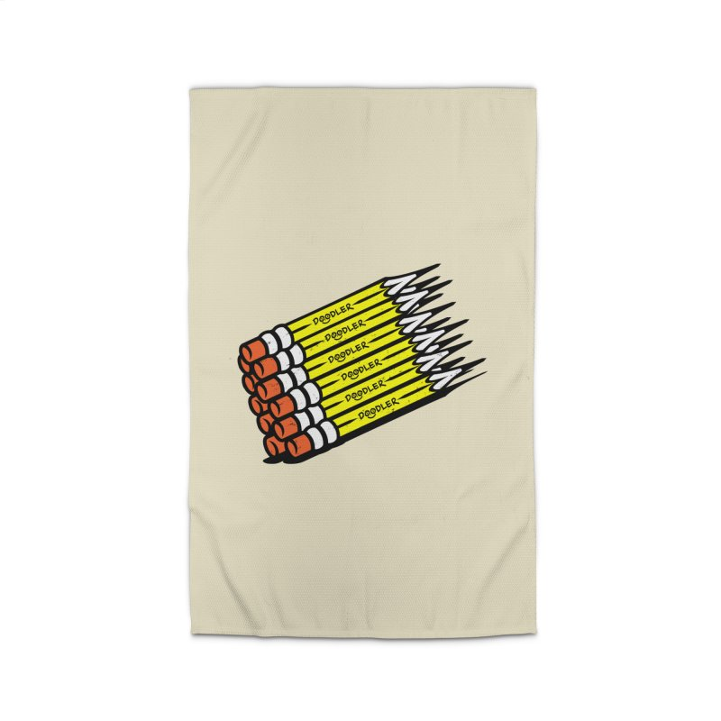 My Pencils Home Rug by rskamesado's Artist Shop