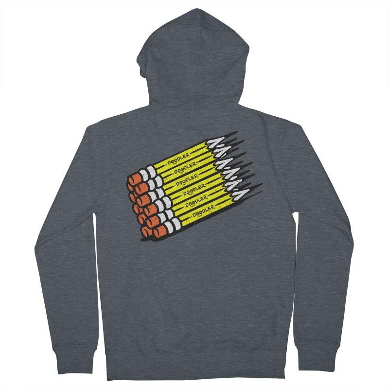 My Pencils Women's Zip-Up Hoody by rskamesado's Artist Shop
