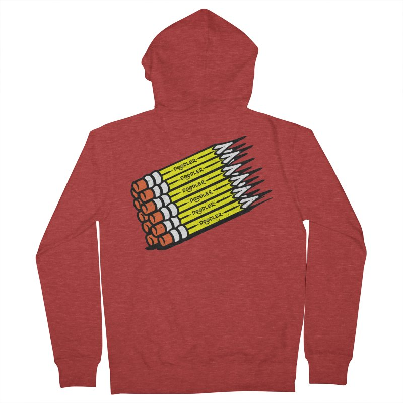 My Pencils Men's Zip-Up Hoody by rskamesado's Artist Shop