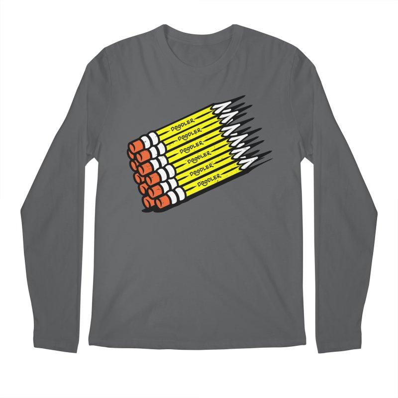 My Pencils Men's Longsleeve T-Shirt by rskamesado's Artist Shop